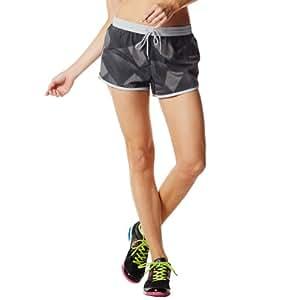 zumba fitness damen hose print perfect running shorts sport freizeit. Black Bedroom Furniture Sets. Home Design Ideas