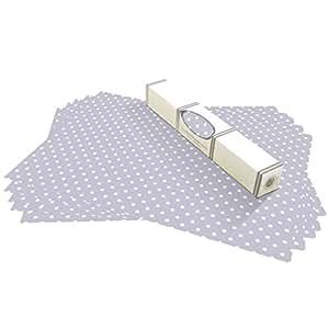 tapis pour fond de tiroir ou tag re motif pois faciles. Black Bedroom Furniture Sets. Home Design Ideas