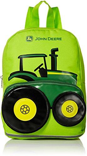 John Deere Little Boys Toddler Backpack, Light Green, One Size