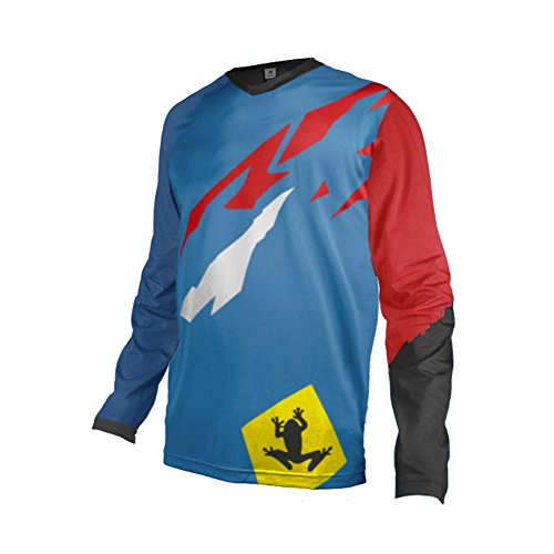 Uglyfrog Invierno Térmico Maillot Ciclismo Hombres Downhill/MX/MTB Jersey Element-Colour Designs Shirt Enduro...