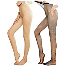 ad91f20b56 Femmes Sexy Bas Résille Superbe Collants Strass Et Strass Collants Minces  Collants Bas De Fête Club