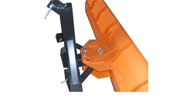 Schneeschild Schneeschieber für Bulldog Kat-1 Traktor 250 x 57 cm