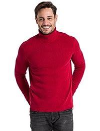 Wool Overs Pull col roulé homme en laine d'agneau