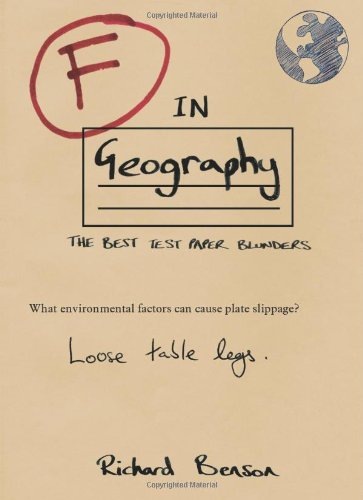 F in Geography (F in Exams), used for sale  Delivered anywhere in UK