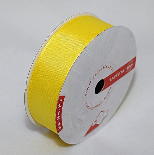 Ruban Tissu Basic 40 Mm jaune