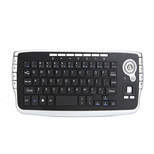 2.4 G Drahtlose Tastatur Multimedia Touch Pad Mouse Multifunktions-Mini-Fernbedienung Portable Für Windows XP Android Mac