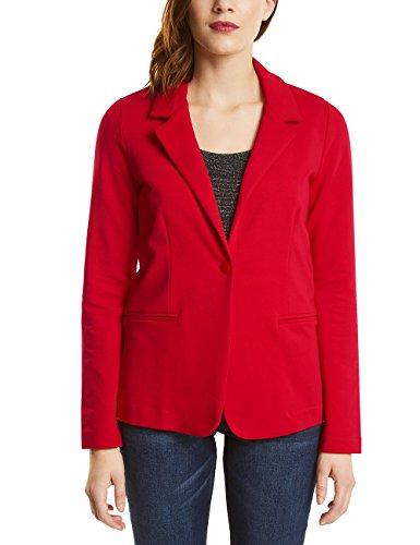 Street One Damen Anzugjacke 210603 Tine, Rot (Scarlet Red 11157), 36