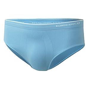 Runderwear Mutande da Uomo, per Jogging/Fitness/Palestra o Altri Sport, Tessuto di Qualità Premium, Senza Cuciture e Anti Sfregamento
