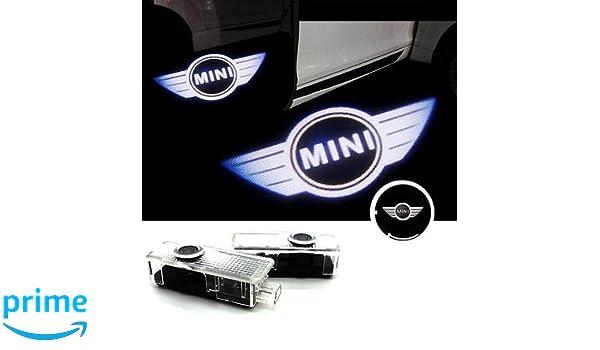 Projectors Projector LED Lights Strip Goalkeeper Mini Cooper Emblem Logo S