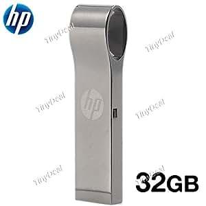 HP V285W 32GB USB2.0 Metal Ring Waterproof USB Flash Drive U Disk USB Pen Drive EUD-294831