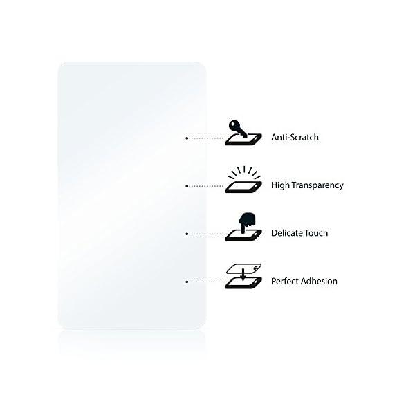 savvies Protector Pantalla Compatible con Yamay SW016 (6 Unidades) Pelicula Ultra Transparente 5