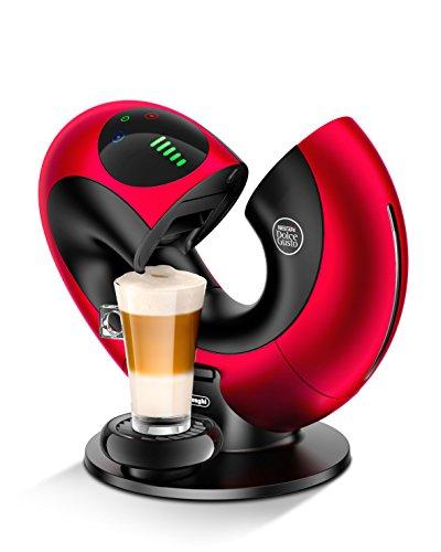 De'Longhi EDG 736.RM Nescafé Dolce Gusto Eclipse Kaffeekapselmaschine, Kaffeemaschine für Heiß-...
