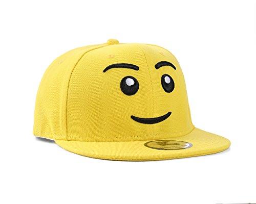Underground Kulture Tête de Bloc Jaune Casquette Réglable (Block Head Yellow Snapback Cap)