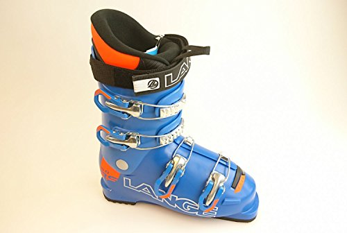Lange RSJ 60 Kinder-Skischuhe LBF5140 Blue/Orange Gr. 24.5