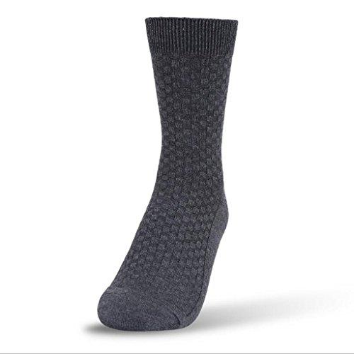 sucastle-chaussettes-hommes-fibres-de-bambou-grille-a-double-aiguille-foncee-antibacterien-desodoris