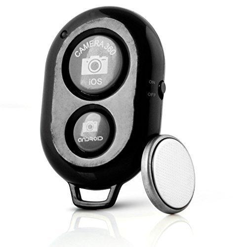 Neuftech Bluetooth Funk Selfie Fernauslöser Selbstauslöser Fernbedienung Remote für iOS, Android Smartphone wie iphone 6/6s/5s/5c/5/4/4s, ipad 3/2, Samsung Galaxy S2/S3/S4 + Note 1/2/3, note8, 10.1 + Moto X + Nexus - Phone Sony Kamera Von I Für