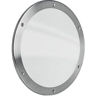 MLS Bullauge B5000 Rundfenster Edelstahl gebürstet Ø 35 cm Glas klar 0180-0182