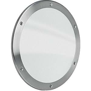 MLS Bullauge Rundfenster Aluminium schwarz matt Ø 25 30 35 40 cm