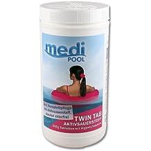 Medi Pool Piscina Cuidado Twin Tab Oxígeno activo, ...