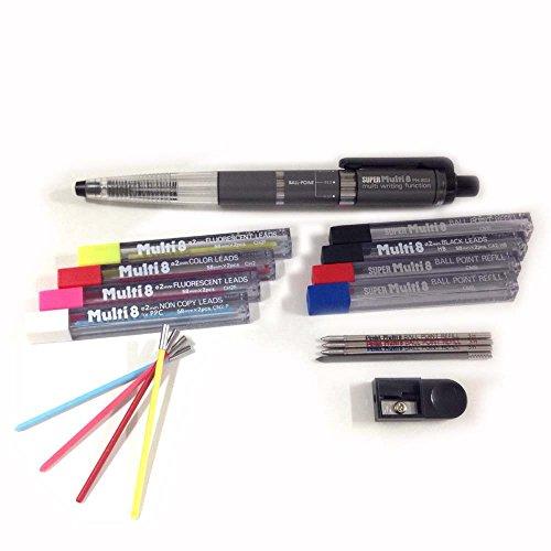 pentel-super-ph803st-multi-8-set-composto-da-matita-meccanica-automatica