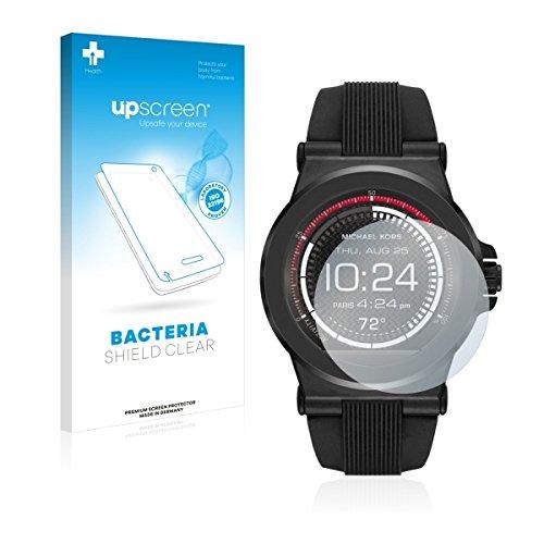 upscreen Bacteria Shield Clear Displayschutz Schutzfolie für Michael Kors Access Dylan (antibakterieller Schutz, hochtransparent)