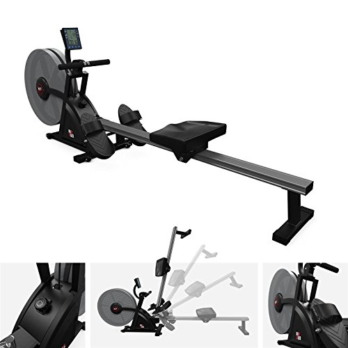 418fvMOyT0L. SS500  - We R Sports Rowing Machine Body Toner Home Rower Fitness Cardio Workout AirDuo