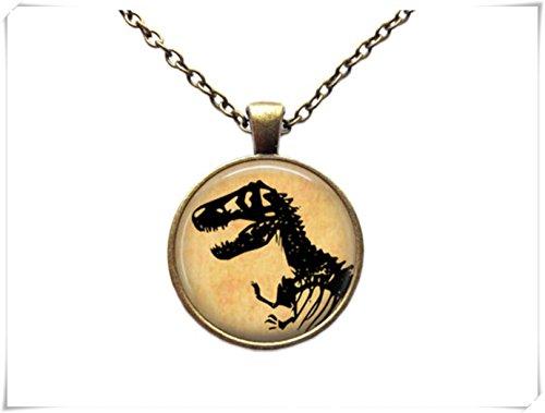 Collar Esqueleto Colgante de dinosaurio T-Rex