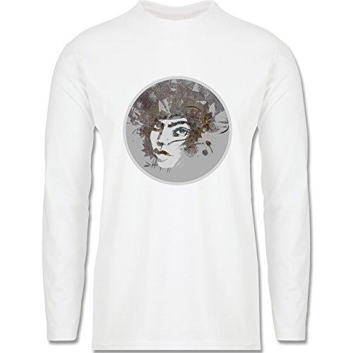 Sonstige Berufe - Circle mind - creative brainstorming - Longsleeve / langärmeliges T-Shirt für Herren Weiß