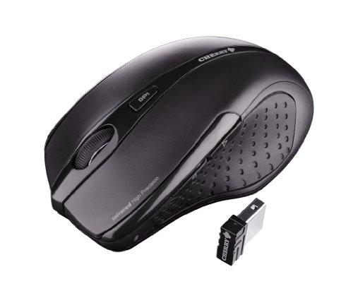 Preisvergleich Produktbild Cherry JW-T0100 Funk-Maus USB schwarz