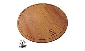 Moesta-BBQ Schneidbrett XXL 50cm Durchmesser Pizzabrett