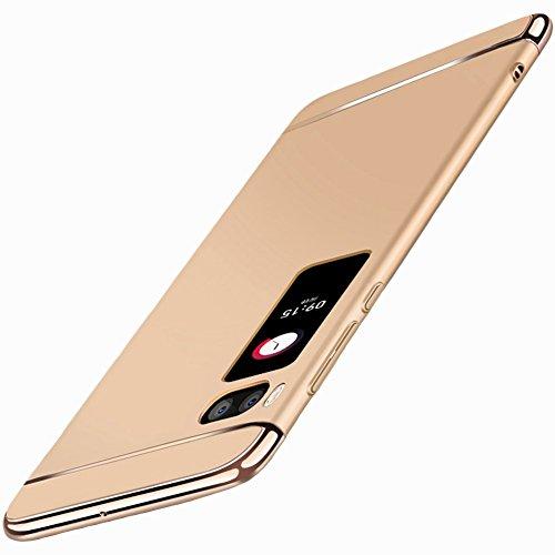 "Coque Meizu Pro 7 Plus (5.7""), MSVII® 3-in-1 Design PC Coque Etui Housse Case et Protecteur écran Pour Meizu Pro 7 Plus (5.7"") - Argent JY50157 Or"