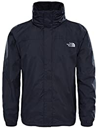 The North Face M Resolve Jacket Chaqueta, Hombre, TNF Negro/TNF Negro, L