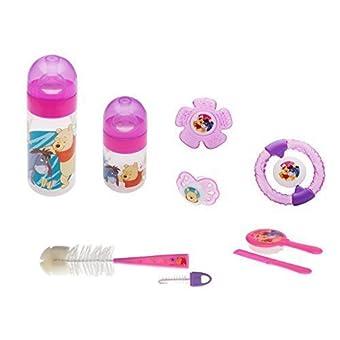 7 éléments Kit Débutant Disney Winnie L'ourson rose de 0 mois