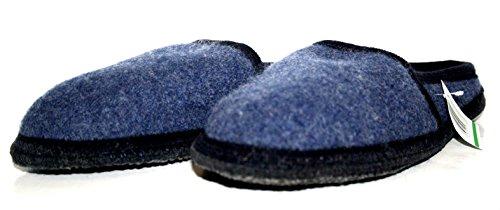 Walkstoff , Chaussons pour homme Marron Marron Marron - Bleu