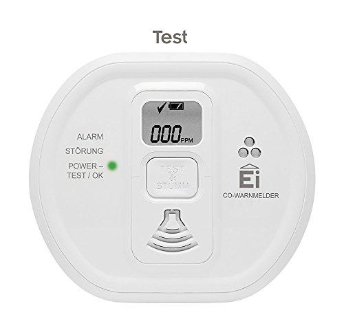 Ei Electronics Ei208D 10-Jahres-Kohlenmonoxidwarnmelder, 1 Stück - 3