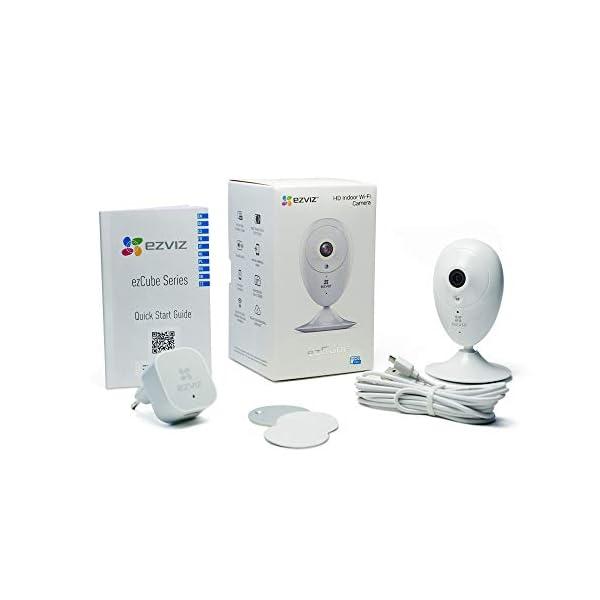EZVIZ-ezCube-Telecamera-di-Sorveglianza-Prima-Generazione-WiFi-Videocamera-IP-Interno-Wireless-Audio-Bidirezionale-Baby-Monitor-Visione-Notturna-Servizio-di-Cloud-Compatibile-con-Alexa