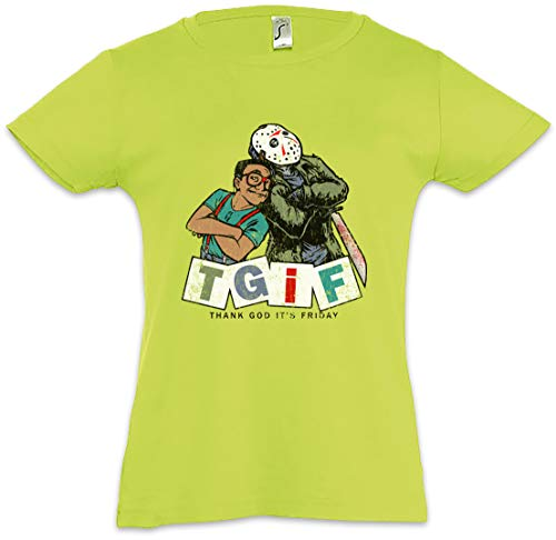 Urban Backwoods TGIF I Camiseta para Niñas Chicas niños T-Shirt