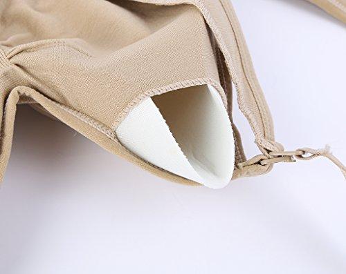 Srizgo Still BH 2/4er Pack Damen Schwangerschaft Still-BHS Zusätzlichen BH-Verlängerungen Ohne Bügel Nahtlose Tag und Nacht Still-BH