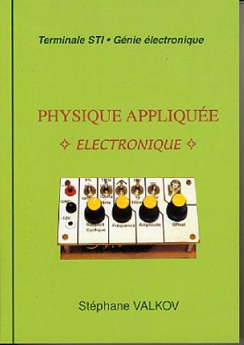 En ligne téléchargement gratuit Physique appliquée : électronique pdf