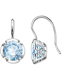 27101feb6 Thomas Sabo Women's Earrings 925 Sterling Silver Spinel Blue H1836 ...