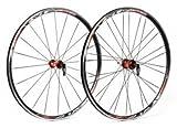 XLC Unisex– Erwachsene Racinglaufradsatz Pro 28 Zoll WS-R02 Schwarz, One Siz