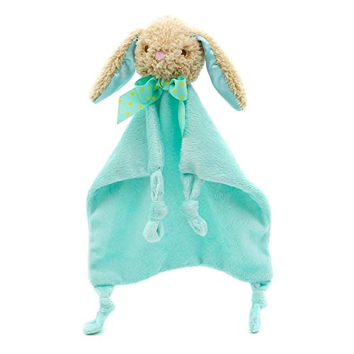 Jacobden Karikatur-Baby-beruhigendes Tuch-neugeborenes Säuglingssicherheits-Decken-Nette Tier-weiche Baumwollhandtuch für Baby-Sorgfalt - Grün