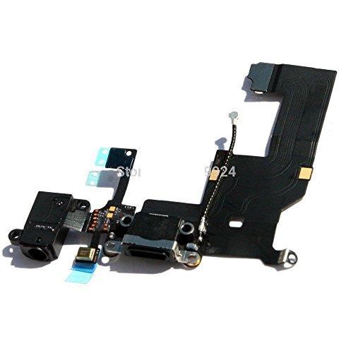 Gruppo connettore dock per iPhone 5 con presa per ricarica,