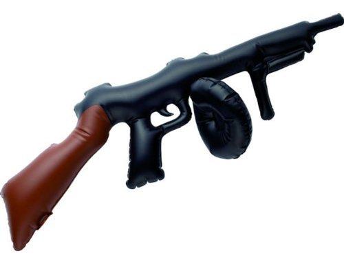 SMIFFY 'S 75cm Aufblasbare Tommy Gun (schwarz)