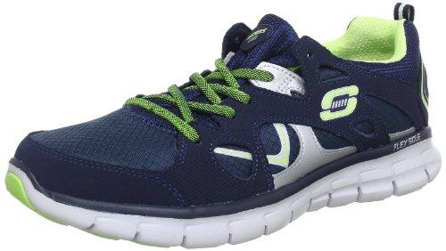 Skechers SynergyMemory Sole 11681 Damen Sneaker Blau (Nvlm)
