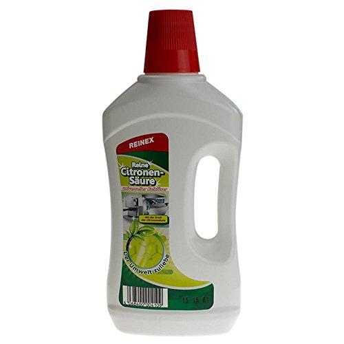Entkalker für Küchenmaschinen Reinex Reine Citronensäure 500 universeller kalklöser mit Zitronensäure