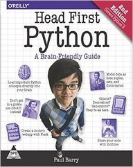 Head First Python: A Brain-Friendly Guide [Paperback] [Jan 01, 2016] Paul Barry