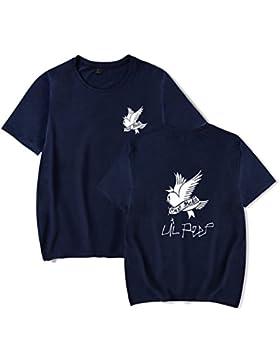SERAPHY Camiseta Unisex R.I.P Lil Peep Cry Baby Rapper Hip Hop Spring Camiseta Para Hombre Harajuku Casual Camiseta