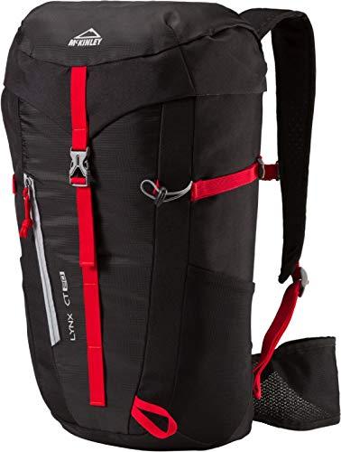 McKinley Damen Trekking-Wander-Outdoor-Tages-Rucksack LYNX CT 20 W schwarz rot -