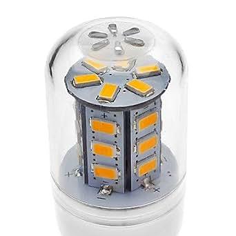 E14/GU10/G9/E26 E27, 4 W, 24 SMD, 5730, 330-380 LM, warmweiß/kaltweiß Lampe AC 220-240 V, Anschluss: G9 Leuchtmittel): Cool White, Spannung: 220 V)